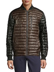 Rainforest Zip Bomber Jacket Tarmac