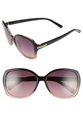 Women's Polaroid Eyewear 58Mm Oversized Polarized Sunglasses