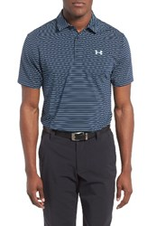 Under Armour Men's 'Playoff' Short Sleeve Polo Red Academy
