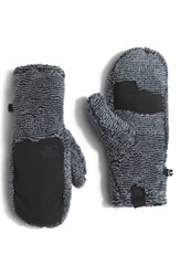 The North Face Women's Denali Thermal Mittens Tnf Black Mid Grey Stripe