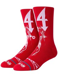 Stance Trippie Socks Red