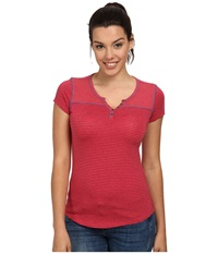 Kuhl Veloce S S Top Watermelon Women's Short Sleeve Pullover Pink