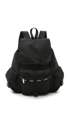 Le Sport Sac Voyager Backpack Black Mesh