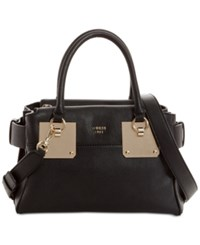 Guess Luma Medium Satchel Black