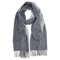Mint Velvet Blanket Scarf Grey Cream
