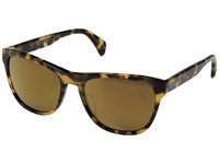 Paul Smith Hoban Spotty Tortoise Gold Bronze Mirror Fashion Sunglasses Brown