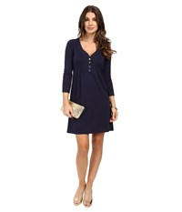 Lilly Pulitzer Amberly Dress True Navy Women's Dress