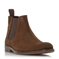 Howick Misile Suede Chelsea Boot Brown