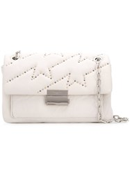 Zadig And Voltaire Ziggy Shoulder Bag White