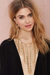Nasty Gal Climb The Ladder Chain Necklace