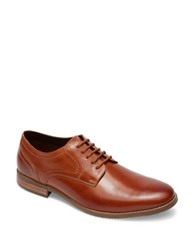 Rockport Plaintoe Oxfords Tan