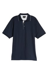 Bobby Jones Solid Tipped Polo Navy
