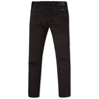 Nudie Jeans Nudie Tight Long John Jean Organic Black Black