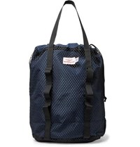 Battenwear Wet Dry Mesh Trimmed Nylon Bag Navy