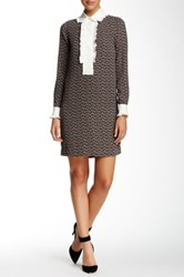 Orla Kiely Printed Shift Dress Gray