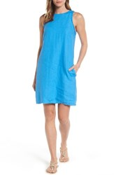 Tommy Bahama Women's Two Palms Frayed Trim Shift Dress