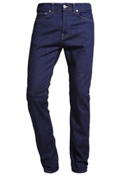 Edwin Relaxed Fit Jeans Rinsed Dark Blue Denim