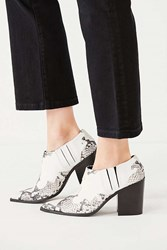 Urban Outfitters Jameson Ankle Boot Black White