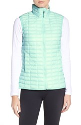 Adidas Women's 'Flyloft' Insulated Vest Ice Mint Ice Green