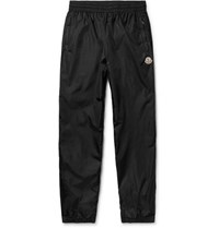 Moncler Genius Tapered Shell Drawstring Track Pants Black