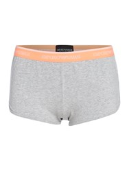 Emporio Armani Visibility Iconic Sporty Boy Short Grey