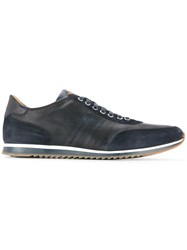 Magnanni Logo Detail Sneakers Blue