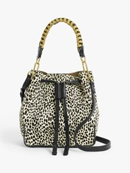 And Or Small Leather Drawstring Cross Body Bag Mono