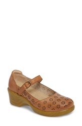 Alegria By Pg Lite Rene Mary Jane Shoe Cognac Leather