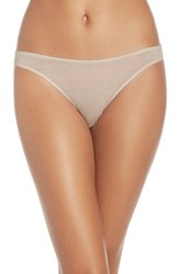 Skin Women's Organic Cotton Thong Nude