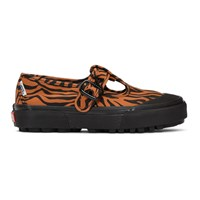 Ashley Williams Orange And Black Vans Edition Style 93 Sneakers