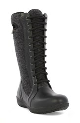 Bogs Women's 'Cami' Knee High Waterproof Boot Black Multi Wool