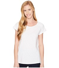 Aventura Clothing Susanna Short Sleeve Top White Women's