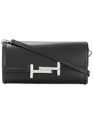 Tod's Double T Wallet On Chain Black