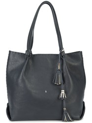 Henry Beguelin Frida Bag Leather Blue