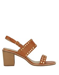 G.H. Bass Leather Dress Sandals Tan