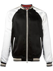 3.1 Phillip Lim Souvenir Reversible Varsity Jacket Black