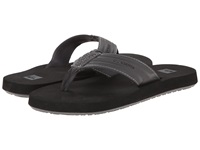 Quiksilver Monkey Wrench Grey Black Grey Men's Sandals Gray