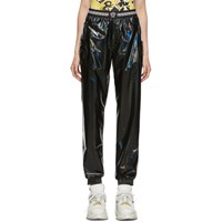 Versace Underwear Back Vinyl Iridescent Lounge Pants