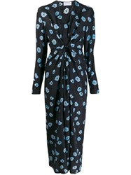 Christian Wijnants Floral Dress Blue