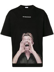 Ih Nom Uh Nit David Bowie Print T Shirt Black