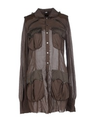L.G.B. Shirts Dark Brown