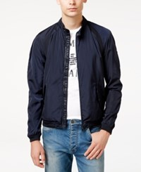 Armani Exchange Men's Lightweight Jacket Navy