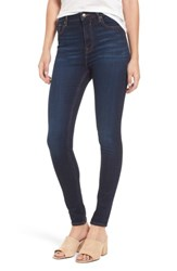 Vigoss Women's Rebel Skinny Jeans Dark Blue