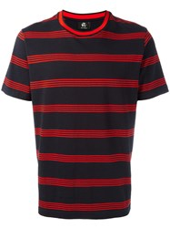 Paul Smith Ps By Striped T Shirt Black