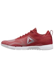 Reebok Crossfit Grace Sports Shoes Canyon Red Skull Grey White