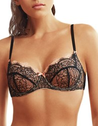 B.Tempt'd Sultry Balconette Bra Night
