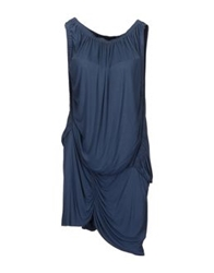 Bolongaro Trevor Short Dresses Slate Blue