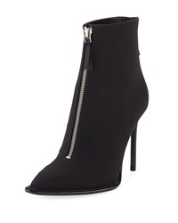 Alexander Wang Eri Nylon Diamante Booties Black
