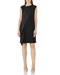 Reiss Cora Zip Detail Dress Black