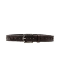 Brian Dales Belts Dark Brown